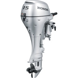 Honda BF15 Portable Outboard Motor, Electric Start, 15 HP, 15