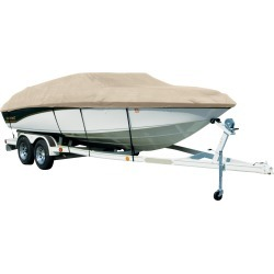 Covermate Sharkskin Plus Exact-Fit Cover for Tahoe 204 204 Deck Boat W/Bimini Laid Aft I/O. Linnen found on Bargain Bro from Overton's for USD $335.91