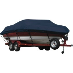 Exact Fit Covermate Sunbrella Boat Cover for Procraft Pro 165 Pro 165 W/Shield W/Port Trolling Motor O/B. Navy found on Bargain Bro India from Overton's for $461.99
