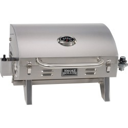 Smoke Hollow Stainless Steel Tabletop Grill found on Bargain Bro India from Overton's for $84.62