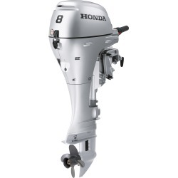 Honda BFP8 Power Thrust Portable Outboard Motor, Electric Start, 8 HP, 20