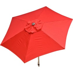 Red 8.5 ft Market Umbrella
