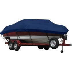 Exact Fit Covermate Sunbrella Boat Cover for Chaparral 162 Xl 162 Xl O/B. Marine Blue found on Bargain Bro Philippines from Overton's for $428.99