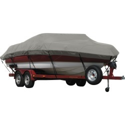 Exact Fit Covermate Sunbrella Boat Cover for Sugar Sand 16 Tango 16 Tango W/Bimini Laid Down. Charcoal Gray Heather found on Bargain Bro Philippines from Overton's for $455.99