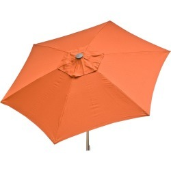 Rust 8.5 ft Market Umbrella