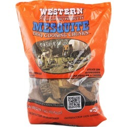 Western Mesquite BBQ Wood Cooking Chunks