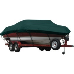 Exact Fit Covermate Sunbrella Boat Cover for Caribe Inflatables T-10X T-10X O/B. Forest Green found on Bargain Bro Philippines from Overton's for $345.99