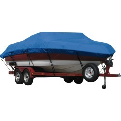 Exact Fit Covermate Sunbrella Boat Cover for Alumacraft 165 Ltd Lunker 165 Ltd Lunker O/B. Pacific Blue found on Bargain Bro India from Overton's for $480.99
