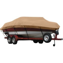 Exact Fit Covermate Sunbrella Boat Cover for Vip 163 Panfish 163 Panfish W/Port Troll Mtr O/B. Beige found on Bargain Bro India from Overton's for $374.99