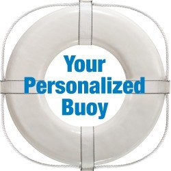 """Personalized 24"""" Ring Buoy"""