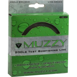 Muzzy Bowfishing Lime Green Braided Bowfishing Line, 200-lb. Test found on Bargain Bro India from Overton's for $14.24
