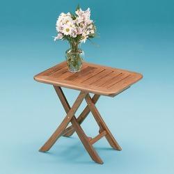 Whitecap Teak Teak Small Adjustable Slat Top Table found on Bargain Bro Philippines from Overton's for $275.49