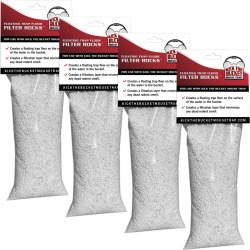 Floating Trap Floor Filter Rocks For Kick The Bucket Mouse Trap, pack of 4 pouches