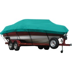 Exact Fit Covermate Sunbrella Boat Cover for Supreme 210 Medalist 210 Medalist Covers Platform. Persian Green found on Bargain Bro India from Overton's for $574.99