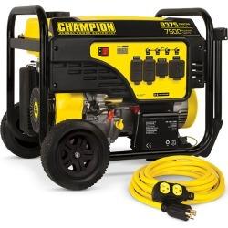 Champion 7500-Watt Generator with Cord
