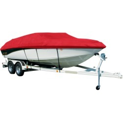 Sharkskin Cover For Four Winns Horizon 180 W/Bimini Top Laid Down On Struts found on Bargain Bro India from Overton's for $333.99