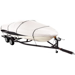 Covermate Imperial Pro V-Hull Outboard Boat Cover, 20'5