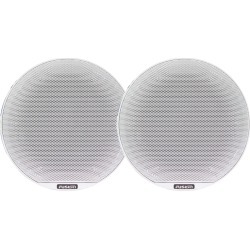 "FUSION SG-C65W Signature Series Speakers 6.5"" Classic Grill - 230W -White"
