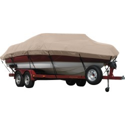 Exact Fit Covermate Sunbrella Boat Cover for Chris Craft Lancer 22 Lancer 22 Rumble Covers Ext. Platform I/O. Linnen found on Bargain Bro Philippines from Overton's for $652.99