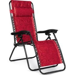 Zero Gravity Chair, Regular, Red Swirl