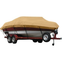 Exact Fit Covermate Sunbrella Boat Cover for Tahoe 215Cc 215Cc Deck Boat Center Console O/B. Toast found on Bargain Bro Philippines from Overton's for $786.99