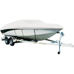 Covermate Sharkskin Plus Exact-Fit Cover for Tahoe 228 228 Deck Boat I/O. White found on Bargain Bro from Overton's for USD $350.35