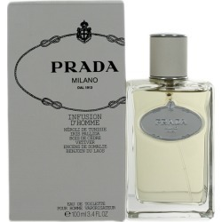 Prada Infusion D'homme (M) EDT Spray 3.4oz NIB found on Bargain Bro Philippines from palm beach perfumes for $257.99