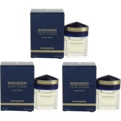 Boucheron Pour Homme (M) EDT Splash .15oz NIB 3PK found on MODAPINS from palm beach perfumes for USD $14.99