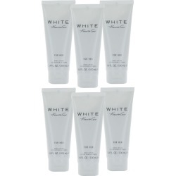 Kenneth Cole White (W) Body Lotion 3.4oz UB 6PK