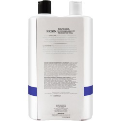 Nioxin System 6 Liter Duo Cleanser + Scalp Therapy Conditioner - Chemically Treated Hair, Progressed Thinning found on Bargain Bro India from Beauty Encounter for $36.95