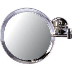 Zadro Acrylic & Chrome Wall Mount Mirror (5X)