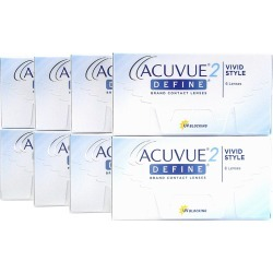 Acuvue 2 Define Vivid Style 8-Box Weekly Contacts Acuvue