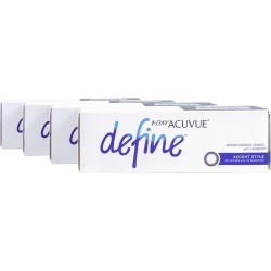 Acuvue Define Accent Style with Lacreon Contact Lenses - 120 Pk