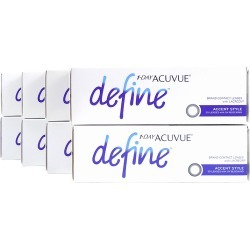 Acuvue Define Accent Style with Lacreon Contact Lenses - 240 Pk