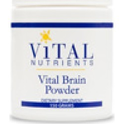 Vital Brain Powder - Vital Nutrients - 150 Grams - Vital Brain Powder - brain