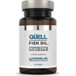 QUELL FISH OIL HIGH EPA - Douglas Laboratories - 60 Soft Gels - EPA - fish oil