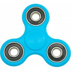 Hand Tri Spinner Anti-Stress Fidget Toy - Blue