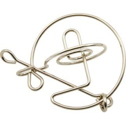 Saturn - Wire Puzzle found on Bargain Bro India from Puzzle Master for $14.22