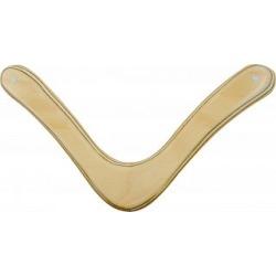 Range Master - natural wood boomerang - Right Handed