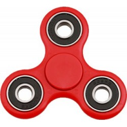 Hand Tri Spinner Anti-Stress Fidget Toy - Red