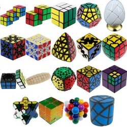 Group Special - a set of 23 Puzzle Master Rotational Puzzles