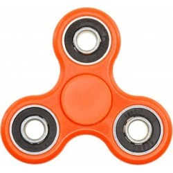 Hand Tri Spinner Anti-Stress Fidget Toy - Orange