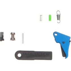 Apex Tactical Action Enhancement Flat-Faced Trigger & Duty/Carry Kit for M&P Shield - Blue