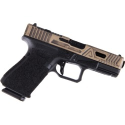 Agency Arms Urban Combat Glock 19 Gen 4 Battleworn FDE Black Agency Barrel found on Bargain Bro India from rainier arms for $2795.00