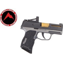 Danger Close Armament Sig Sauer P365 Signature Pistol w/ RMSc Red Dot - Tactical Grey/TiN (Rainier Arms Exclusive) found on Bargain Bro Philippines from rainier arms for $1699.99