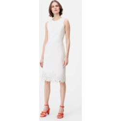 Rebecca Taylor Tailored Eyelet Embroidered Dress