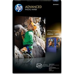 HP 4x6 Photo Paper, Gloss White, 66lbs - 100 ct. found on Bargain Bro India from Rite Aid for $13.99