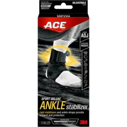 ACE Brand Sport Deluxe Ankle Stabilizer, Adjustable - 1 ct