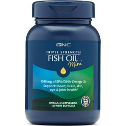 GNC Triple Strength Fish Oil, Mini - 120 ct