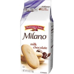 Pepperidge Farm Milano, Milk Chocolate Cookies - 6 oz